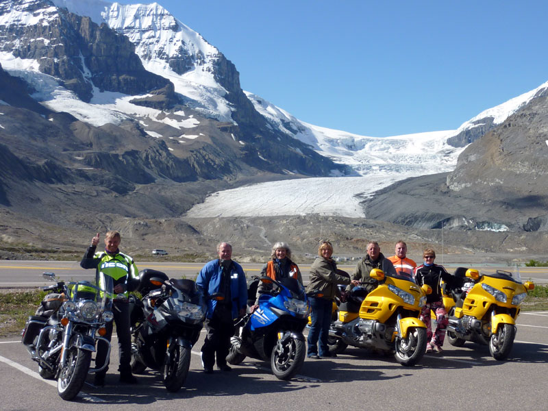 motorcycle tour group